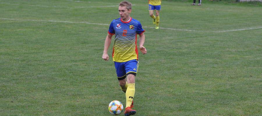 Grzegorz Barski jesienią był podstawowym graczem Wkry