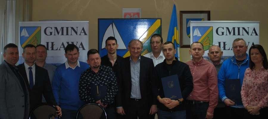 Wójt gminy Iława przydzielił dofinansowanie pięciu klubom sportowym