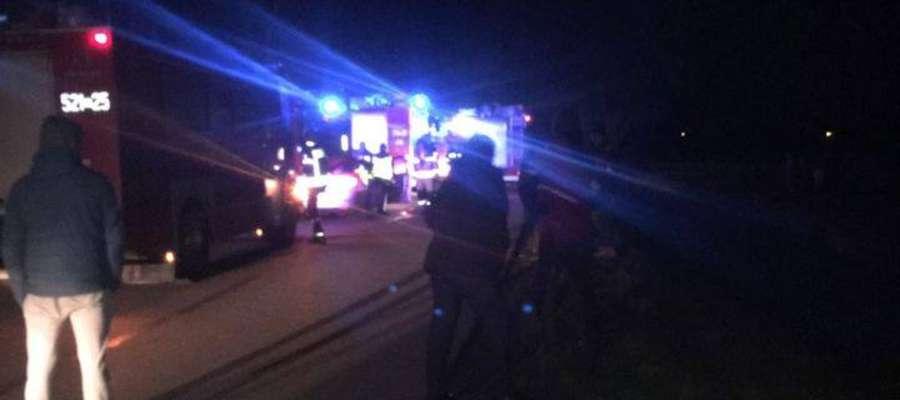 W wypadku ucierpiały trzy osoby
