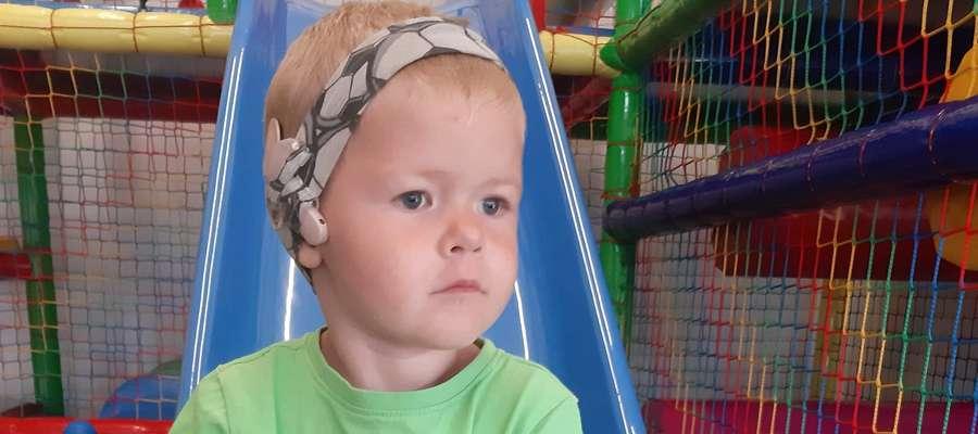 Bartek, podopieczny naszej fundacji chciałby słyszeć jak inne dzieci