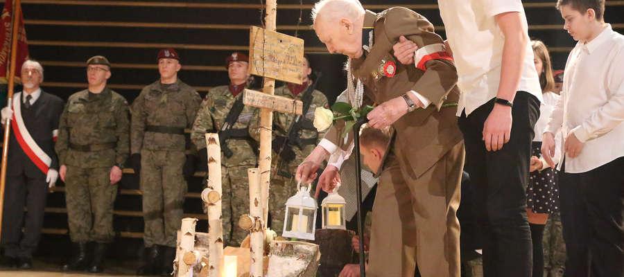 97-letni kpt. Henryk Krzyszczak, żołnierz 6. Wileńskiej Brygady AK