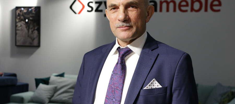 Jan Szynaka, prezes firmy Szynaka Meble
