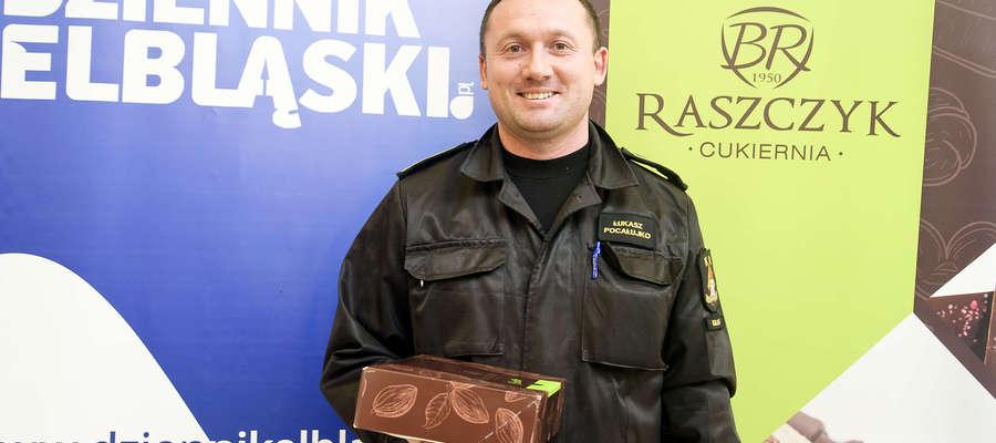 Zwycięzca - Łukasz Pocałujko