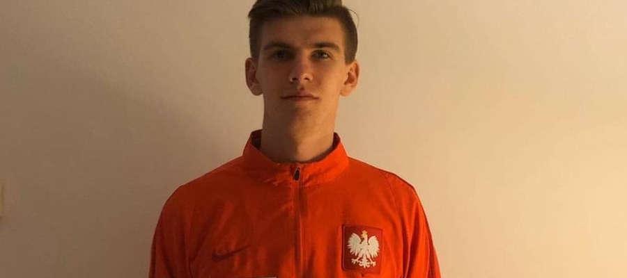Kacper Sezonienko, wychowanek AP Ostróda