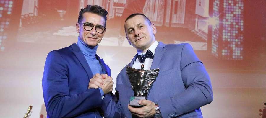 Witold Szmańda, trener i coach hollywoodzkich gwiazd, oraz Maciej Wyszyński