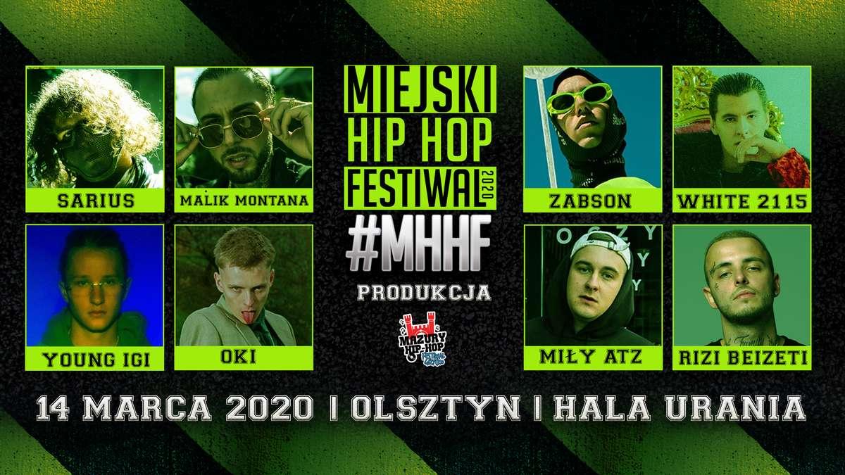 MHHF Miejski Hip Hop Festiwal | Olsztyn Hala Urania - full image