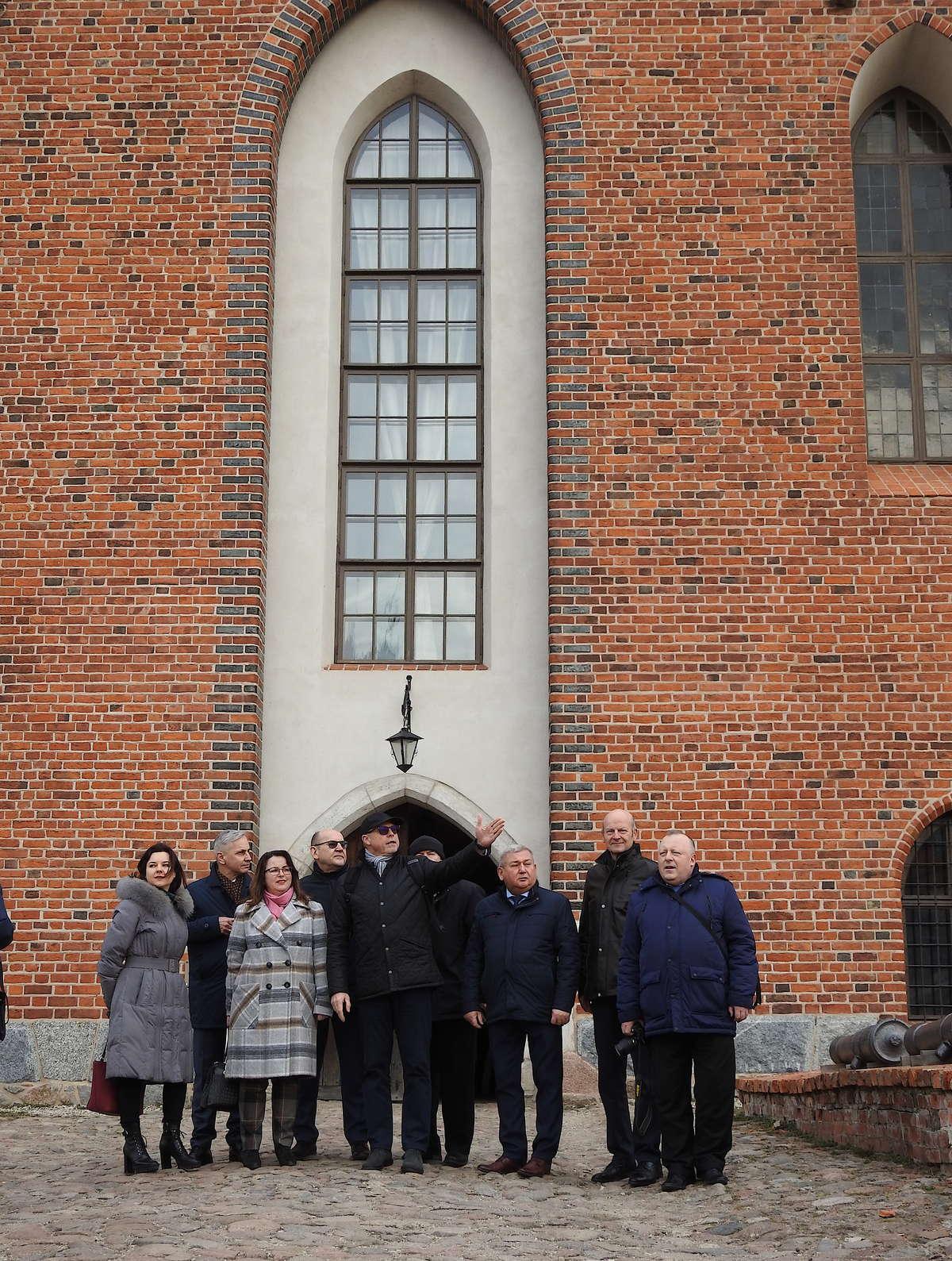 Delegacja Komisji Administracji Państwowej i Samorządu Terytorialnego Sejmu Republiki Litewskiej