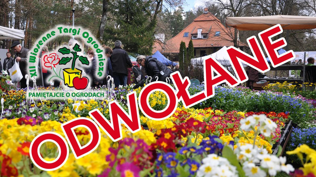 Z powodu koronawirusa odwołano Wiosenne Targi Ogrodnicze - full image