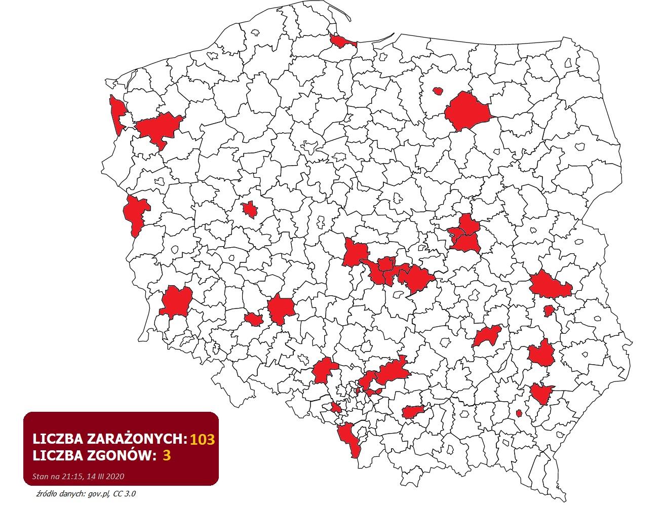 Koronawirus W Polsce 14 Iii 2020 Gazeta Olsztynska