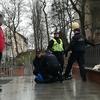 Agresywny i pijany 22-latek zatrzymany na dworcu Iława Główna