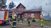 Pożar w Kaplitynach, dom nie nadaje się do zamieszkania