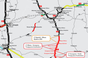 Jest zgoda na budowę odcina S7 Napierki - Mława.