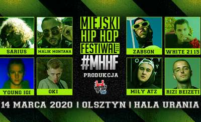 MHHF Miejski Hip Hop Festiwal | Olsztyn Hala Urania