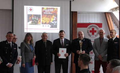 Ochotnicza Staż Pożarna w Janowie wyróżniona w konkursie krwiodawstwa