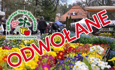 Z powodu koronawirusa odwołano Wiosenne Targi Ogrodnicze