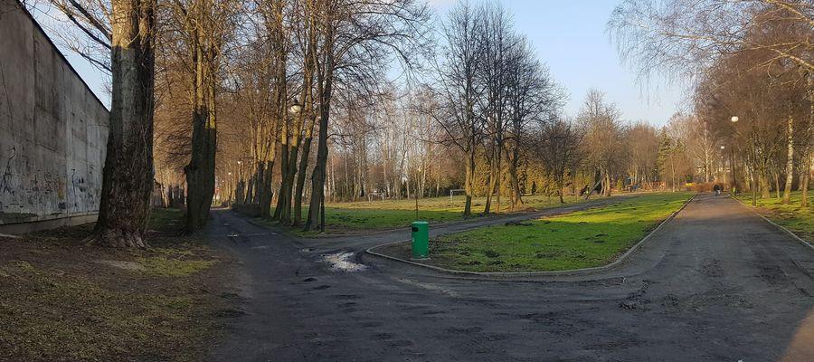 Park Gregoroviusa w Nidzicy