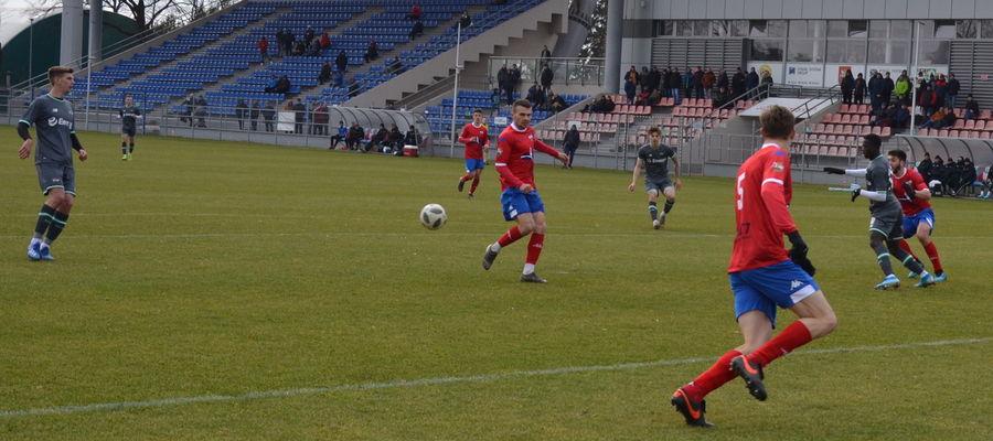 W tym roku piłkarzy Sokoła w Ostródzie oglądaliśmy tylko w sparingu z rezerwami gdańskiej Lechii