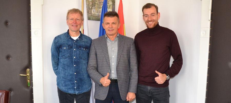 Od lewej: Jarosław Kotas, Bogusław Fijas i Piotr Kołc