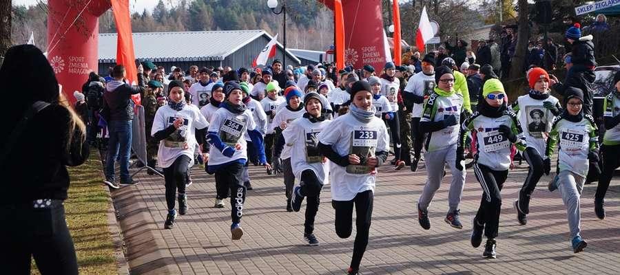 W mrągowskich zawodach pobiegło więcej osób niż np. w Olsztynie.