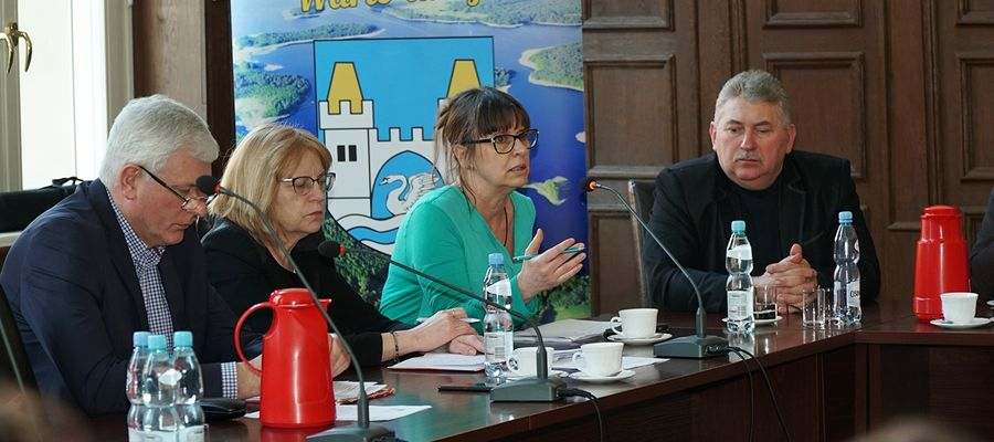 Beata Doraczyńska (druga od prawej) zapewnia, że wszystko jest pod kontrolą i nie ma powodów do paniki