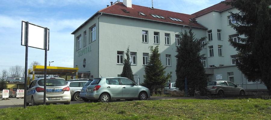 W szpitalu w Ostródzie jest kilka osób zarażonych, przybywa ich z każdym dniem