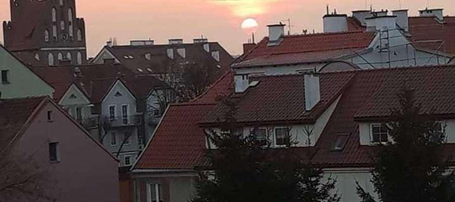 Wieczór w Bartoszycach.