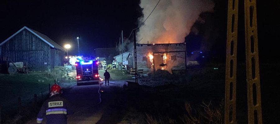 Pożar w Jagotach