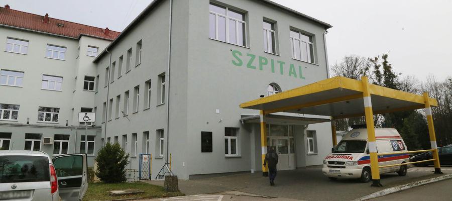 Szpital w Ostródzie.