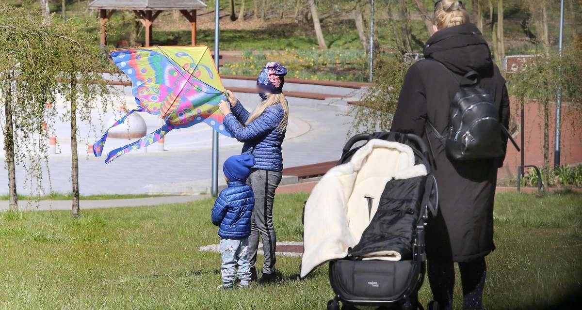 Pandemia parki spacery
