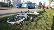 Niebezpieczne zdarzenie przy przejściu dla pieszych w Olsztynie [ZDJĘCIA]