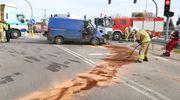 Z ostatniej chwili: Ogromny korek pod Olsztynem po zderzeniu dwóch pojazdów [ZDJĘCIA]