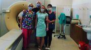 Maseczki dla nowomiejskiego szpitala docierają także z południa kraju