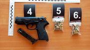 Amfetamina w lodówce, a broń w szafce