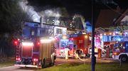 Pożar w Bartągu [ZDJĘCIA]