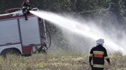 Pożary na polach — w Jawtach płonął stóg słomy, a w Karasiu śmieci (m.in. opony)