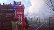 Ponad 30 strażaków walczyło z pożarem [ZDJĘCIA]