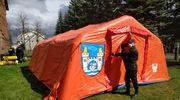 Mrągowscy strażacy prowadzą działania w związku z zagrożeniem koronawirusem