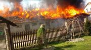 Ogień strawił im niemal cały dobytek [GALERIA]