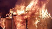 Kolejna ofiara pożaru altanki