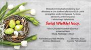 Życzenia Wielkanocne od burmistrza Susza oraz przewodniczącego Rady Miejskiej