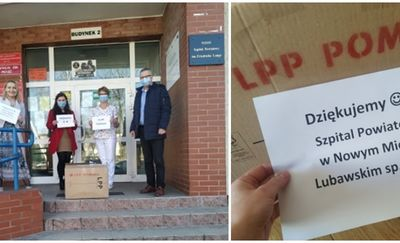 Aż 2 tysiące maseczek trafiło do Szpitala Powiatowego w Nowym Mieście