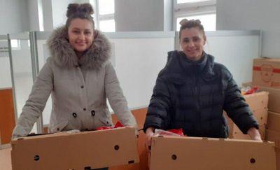 Paczki żywnościowe trafiły do ponad 130 rodzin
