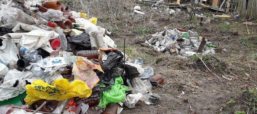 Śmieci nad Łyną