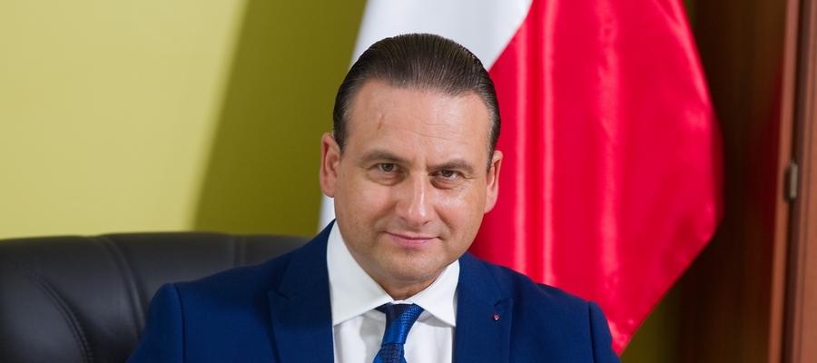Rafał Ryszczuk, burmistrz Kisielic