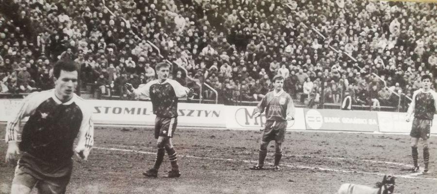 Podczas ośmiu pierwszoligowych sezonów Stomil na stadionie w Olsztynie wygrał 57 razy