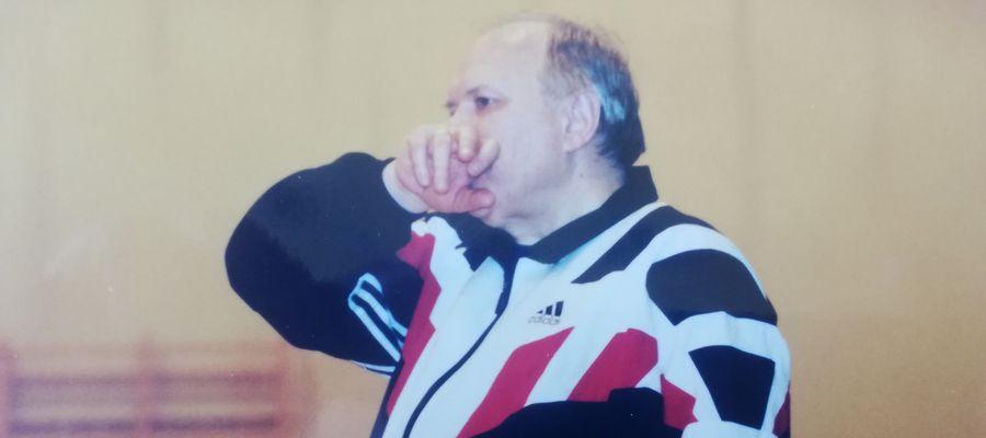 Trener Mieczysław Nowak