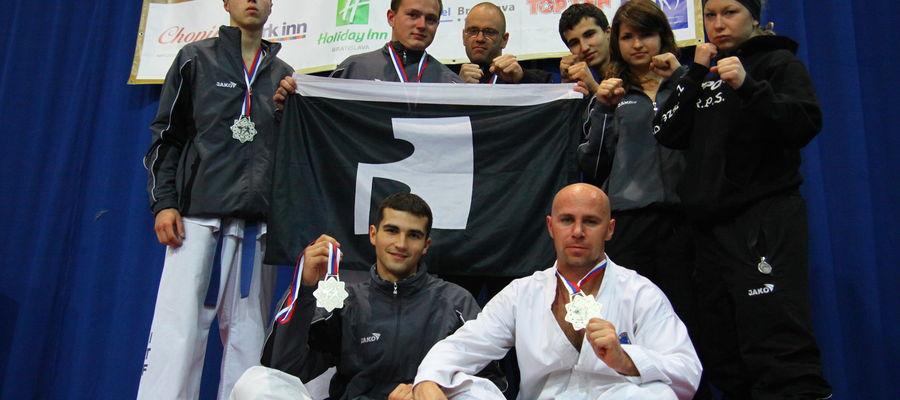 Ze sportowego archiwum (2010): taekwondocy z Bartoszyc na Pucharze Europy w Bratysławie