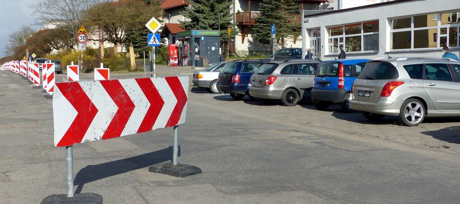 Nowa organizacja ruchu przy ulicy Poniatowskiego w Bartoszycach