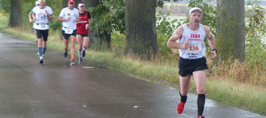 Zdjęcie ilustracyjne (na trasie IX Iławskiego Półmaratonu, odcinek Szałkowo - Iława)