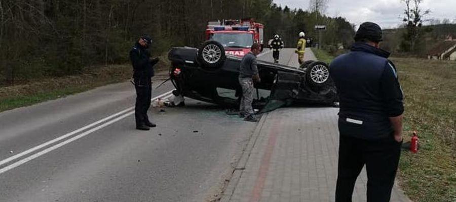 Kierowca volvo był pijany